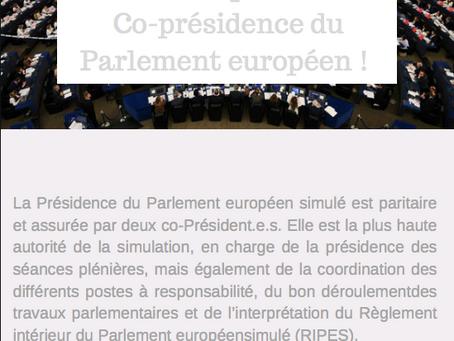 Appel à candidatures des Présidents de commission
