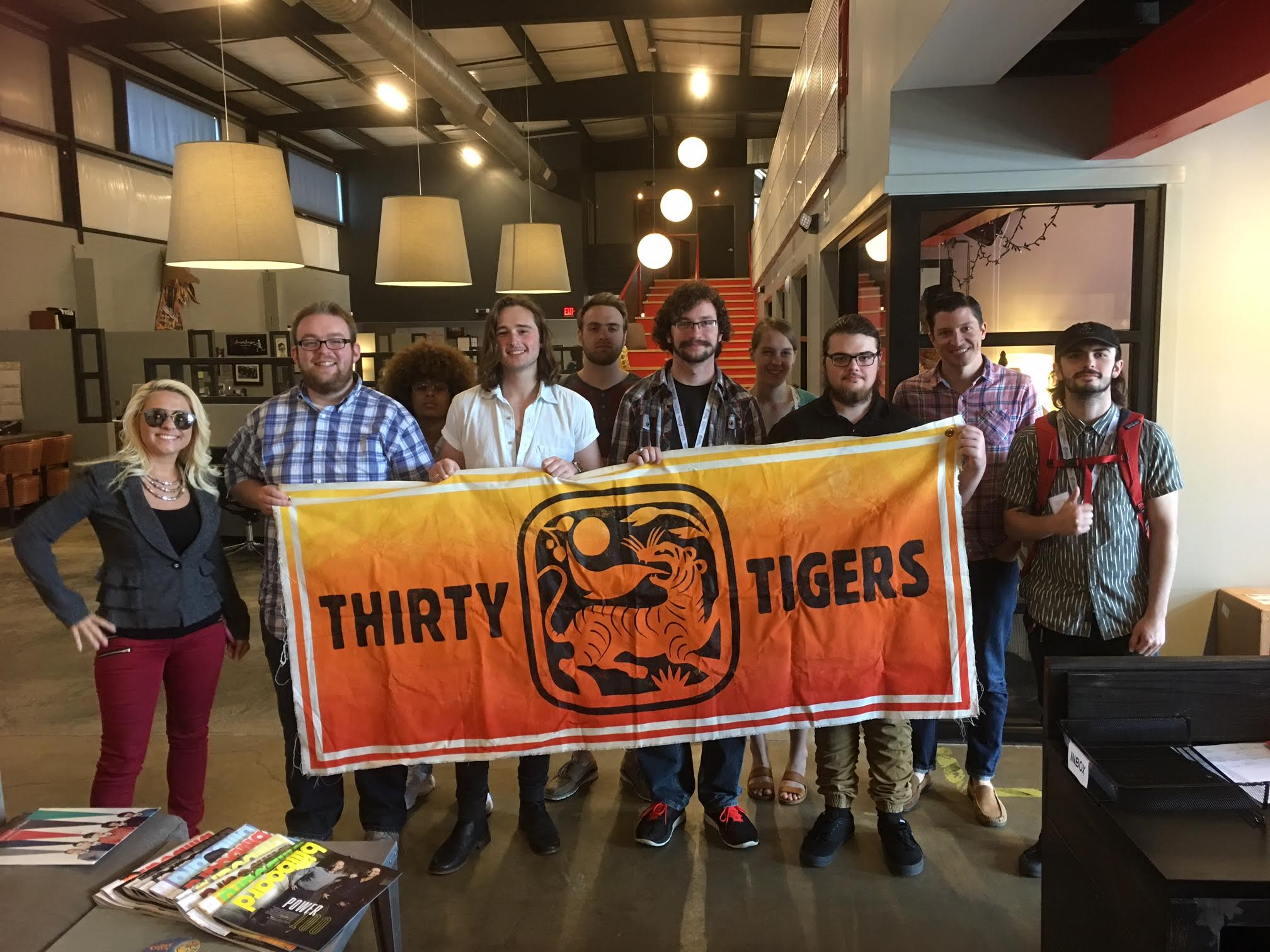 THIRTY TIGERS in Nashville, TN.