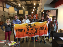 THIRTY TIGERS in Nashville, TN.