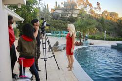Filming in LA for @SkyloMusic
