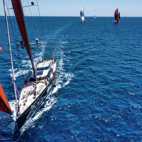 Nice Sailing Day at Palma Superyacht Cup
