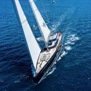 First Day of Racing at Superyacht Cup Palma 2021