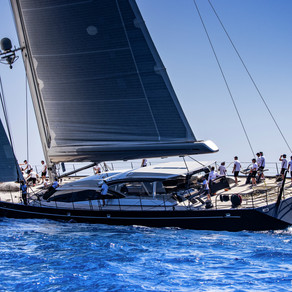 Tricky Second Day at Palma Superyacht Cup