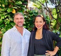 Kartika and Chris Vogel