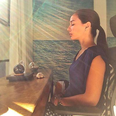kartika alexandra the hypnotherapiin meditation