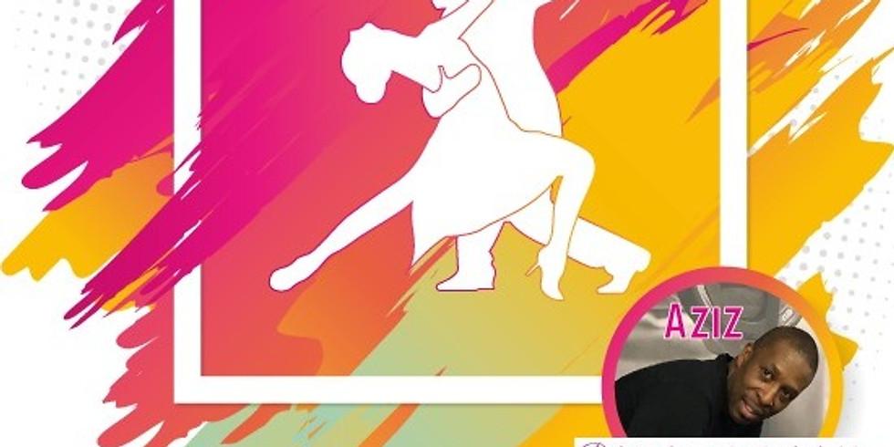 08 OCTOBRE 2020 Démonstration et pratique Salsa Bachata avec AZIZ - Le Moment