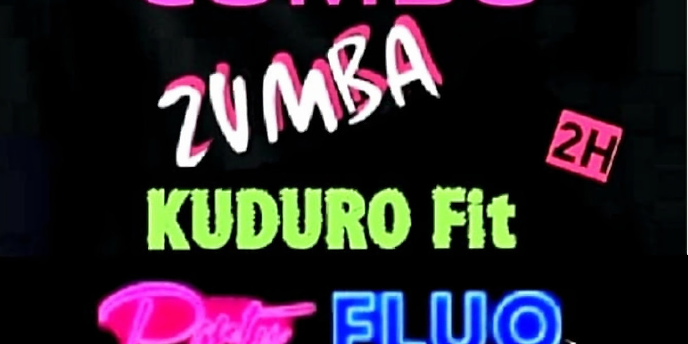STAGE COMBO ZUMBA KUDURO FIT FLUO - 19h 21h