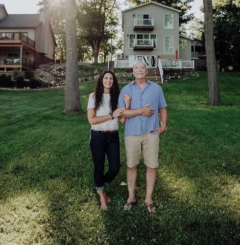 Steve and Cindy Haney: Down To Earth owners