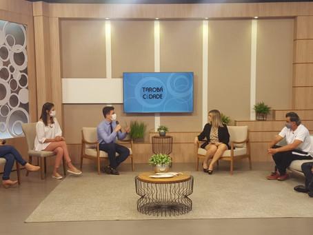 Entrevista sobre Osteoporose na TV Tarobá