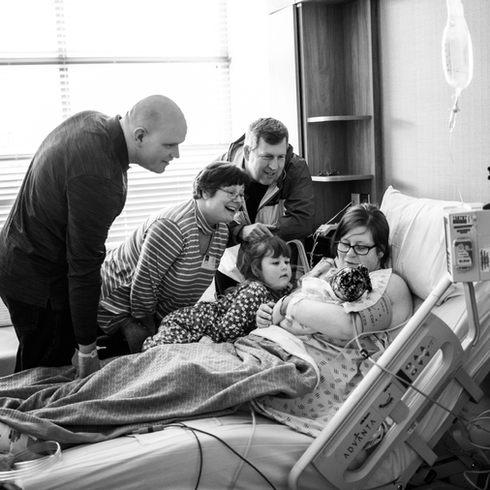 Wenatchee, WA Newborn Birth Photography