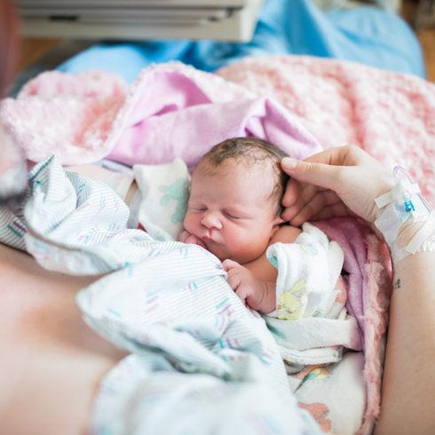 Wenatchee Lifestyle Newborn Session