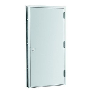 home-depot-security-electric-doors-with-triple-hinge-set-and-angled-jamb-with-solid-steel-material-5