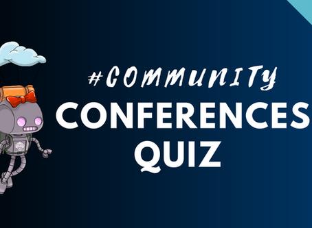Community Conferences Quiz