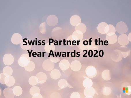 Opening the Microsoft Switzerland Partner of the Year Awards Ceremony