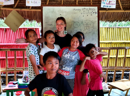 This was Volunteering in Tianyar, Indonesia