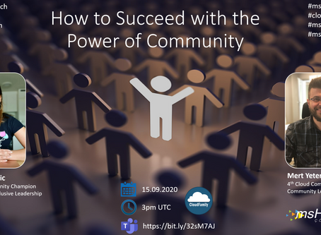 msHOWTO Live! #12: How to Succeed with the Power of Community