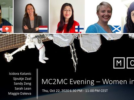 Speaking at MC2MC -Women in Tech