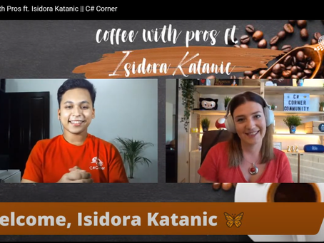 Coffee with Pros – by C# Corner