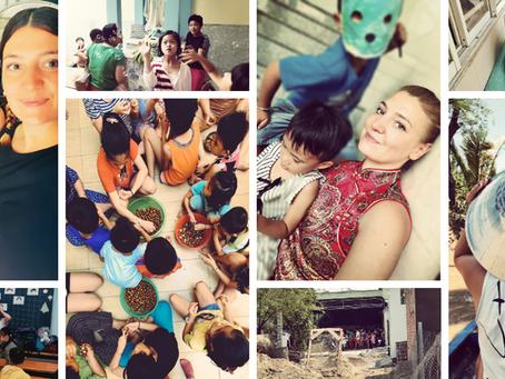 This was Volunteering in Vietnam