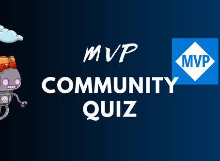 MVP Community Quiz