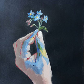 forget me not 24x30 cm