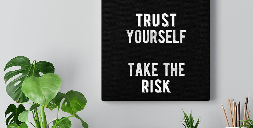 Ignore the rest. Trust yourself. Take the risk.