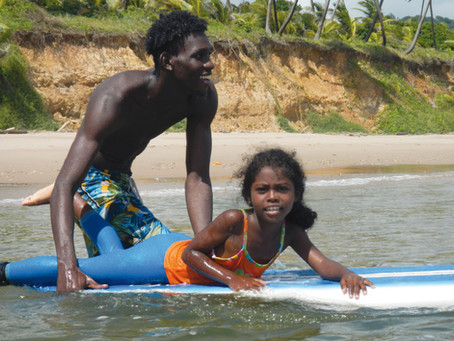 Meet Tyrel, one of our surf therapy coaches