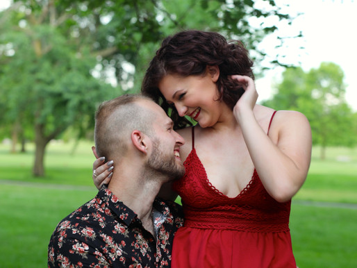Ashley and James | Foster Park | Fort Wayne, Indiana