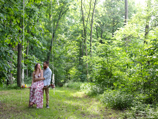Nikki and Tristan | Private Property | Churubusco, Indiana