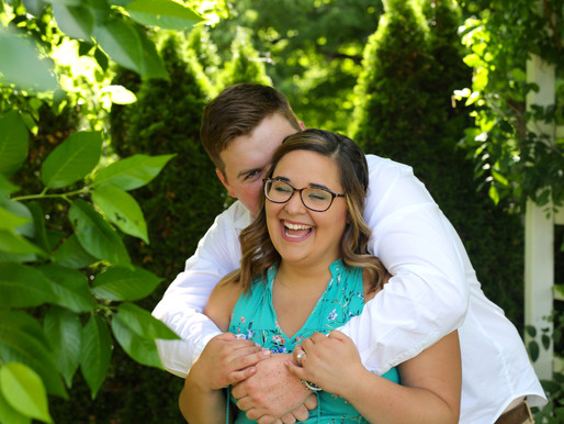 Alicia and Levi | Matter Park | Marion, Indiana
