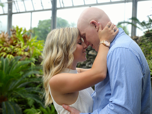 Mike and Morgan | Belle Isle Conservatory  | Detroit, Michigan