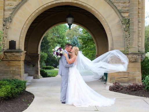 Renbarger Wedding | St Louis Catholic Church, Saint Francis, and Ceruti's | Fort Wayne, Indiana