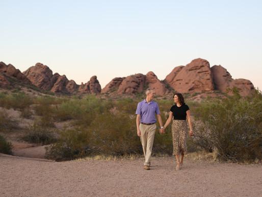 Todd and Karla | Somewhere in the Desert | Phoenix Arizona