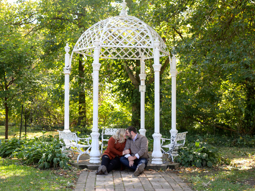 Hanna and Cody | Columbus Park Of Roses | Columbus, Ohio