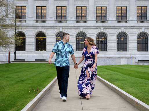 Taylor and Kevin | The Fountain of Eternal Life | Cleveland, Ohio