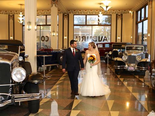 Ayers Wedding | Auburn Cord Automobile Museum | Auburn, Indiana