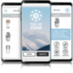 Pure Air Zone App