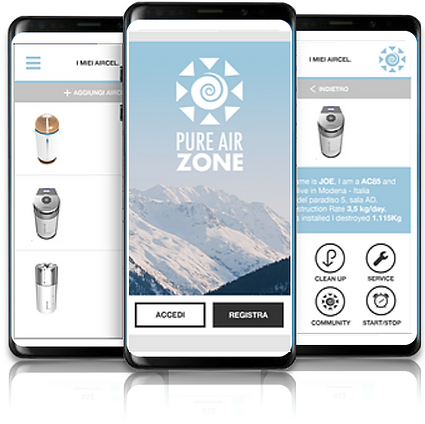 Pure Air Zone App