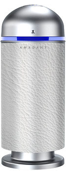 Amadahy white leather
