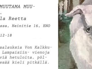 Piirroksia ala Reetta Louhitalolla 13.8.-31.8.