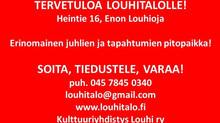 Tervetuloa Louhitalolle!
