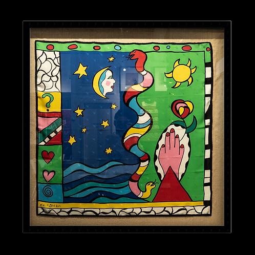 Tuch von Niki de Saint Phalle #802 / 1200