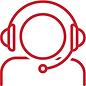 No Support - Person on Headphones Elemen