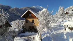Vallouise sous la neige