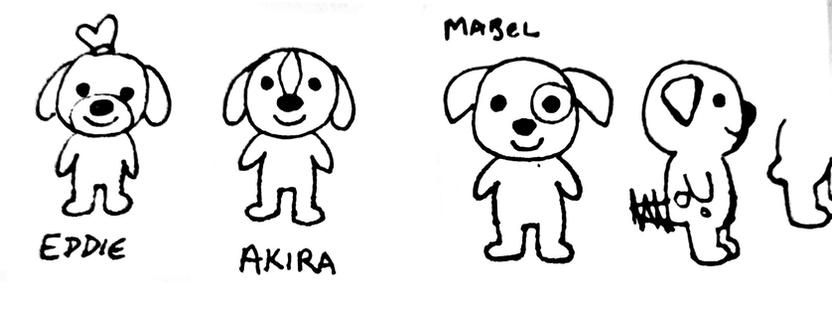 Sketch: Puppies