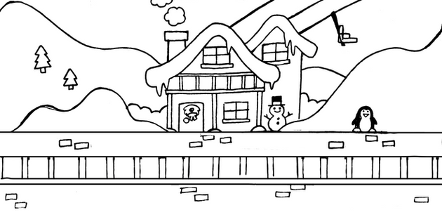 Trains: Chalet Station Concept