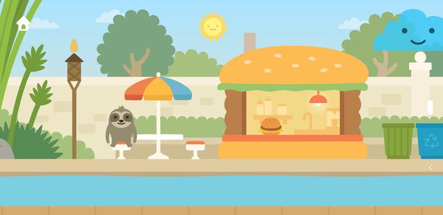 Zoo: Burger Shop