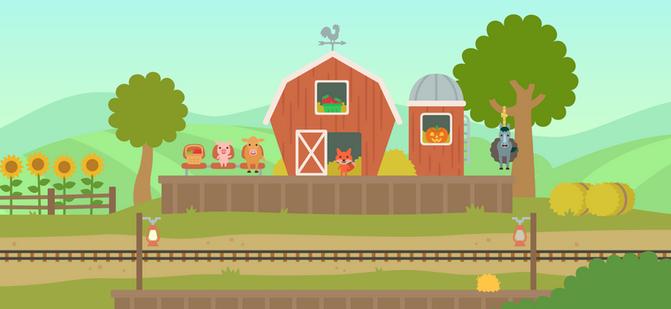 Trains: Farm Station