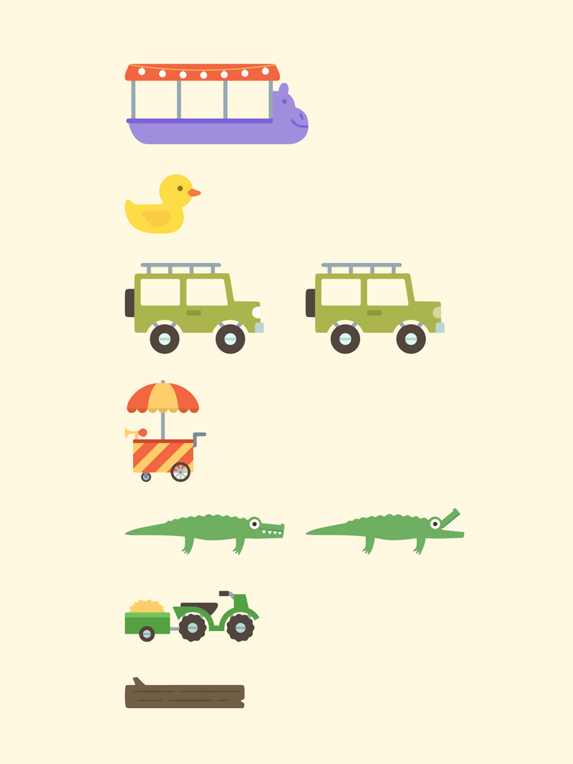 Zoo: Vehicles
