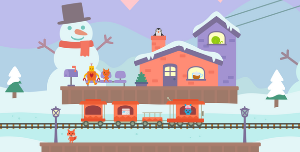 Trains: Chalet Station